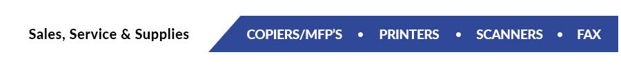 A Plus Copiers, Printers, & MFP's